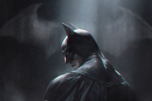 Batman In Dark