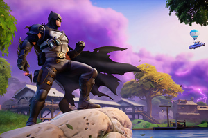 Batman In Fortnite Game 5k Wallpaper