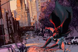 Batman In Nyc 4k Wallpaper