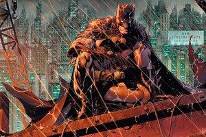 Batman In Rain Wallpaper