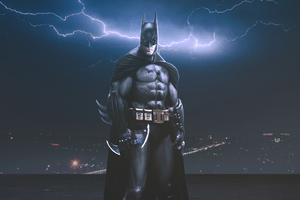 Batman In The Night Artworks