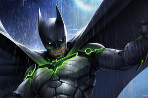 Batman Injustice Art