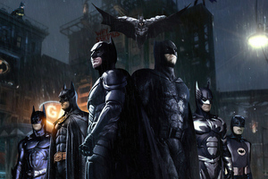 Batman Is Everywhere 4k Wallpaper