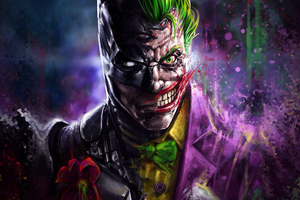 Batman Joker Art