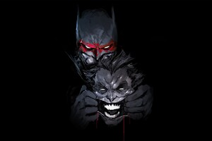 Batman Joker Artwork Wallpaper