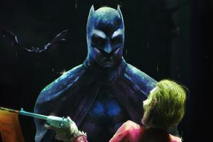 Batman Joker Facing Wallpaper
