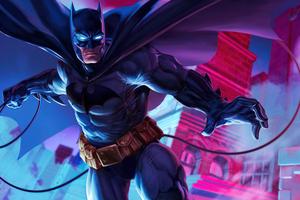 Batman Jump Point 5k Wallpaper