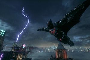 Batman Jumping