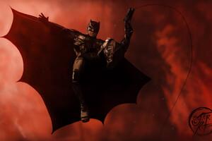 Batman Justice League Artwork Wallpaper