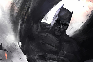 Batman Justice League Concept Art