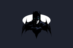 Batman Knight 4k Minimalism