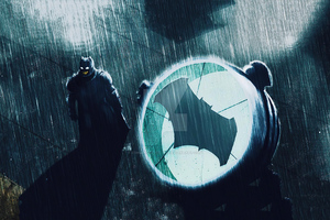 Batman Knight Bat Signal 4k