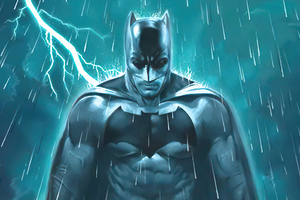 Batman Knight Thunder Wallpaper