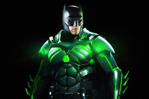 Batman Krypton Energy 4k Wallpaper