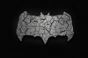 Batman Logo 3d Art 4k