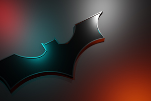 Batman Logo 4k Art