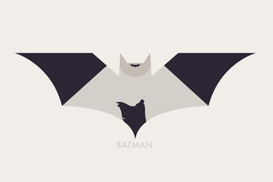 Batman Logo 8k Art