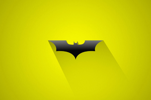 Batman Logo Art 4k