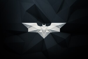 Batman Logo Graphic Design Wallpaper