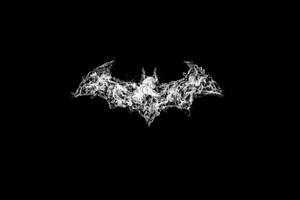 Batman Logo Smoke Art