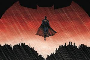 Batman Logo Vs Superman 4k