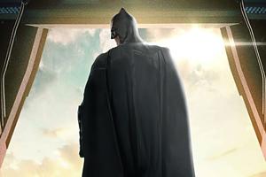 Batman Look Outside 4k Wallpaper