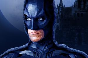 Batman Low Poly Illustration