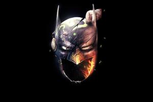 Batman Mask 4k Wallpaper