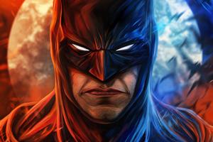 Batman Mask Man