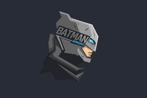 Batman Mask Minimalism 8k