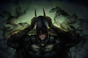 Batman Mask Off Wallpaper