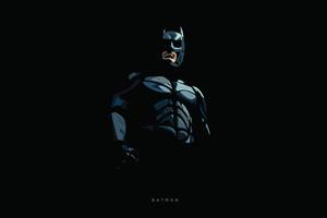 Batman Minimal 5k Wallpaper