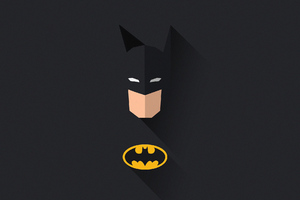 Batman Minimal Art Wallpaper