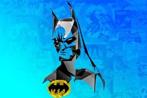 Batman Minimalism 2 Wallpaper