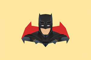 Batman Minimalism 4k 2020 Wallpaper