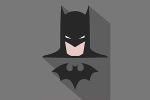 Batman Minimalism Poster Wallpaper