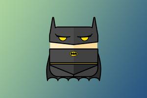 Batman Minimalist 4k