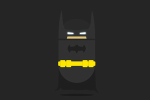 Batman Minimalist Dark 5k Wallpaper