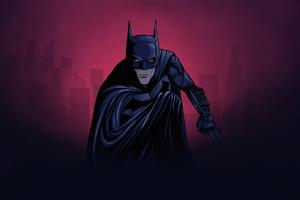 Batman Minimalize 4k Wallpaper