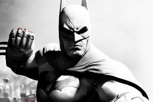 Batman Monochrome Art
