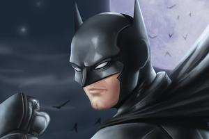 Batman Moon Knight 4k