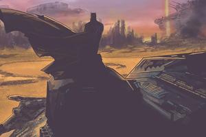 Batman Mythical 4k
