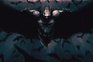 Batman New 4k Flying