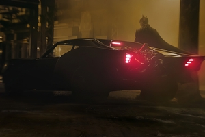 Batman New Batmobile