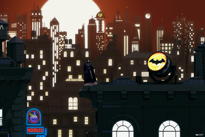Batman New Gotham Art