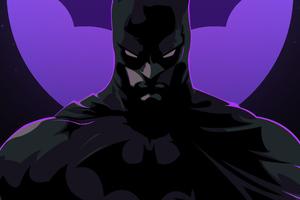 Batman New Neon Art Wallpaper