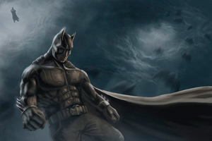 Batman Newart4k Wallpaper