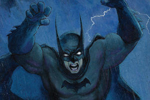 Batman Night Art Wallpaper
