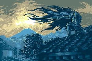 Batman Ninja Art Wallpaper