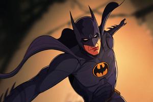 Batman Nostalgia Suit Wallpaper